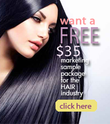 Hair Marketing Sample Package
